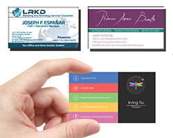 BUSINESS CARDS qube