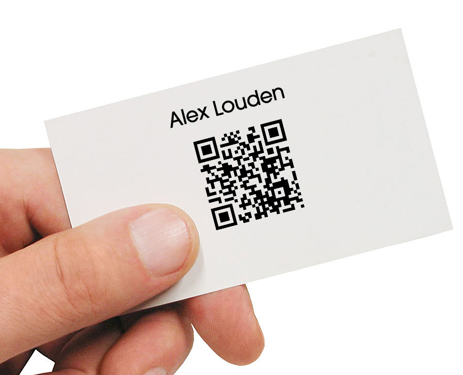 QR Code Business Cards — Crafthubs